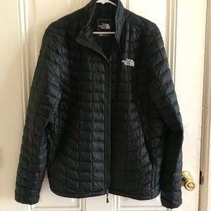 Men's Black North Face Puff Jacket